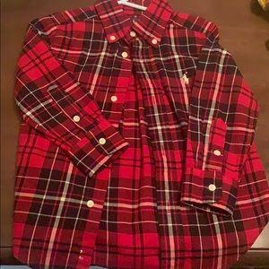 Boys Ralph Lauren holiday shirt